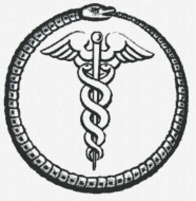 medical snake icon