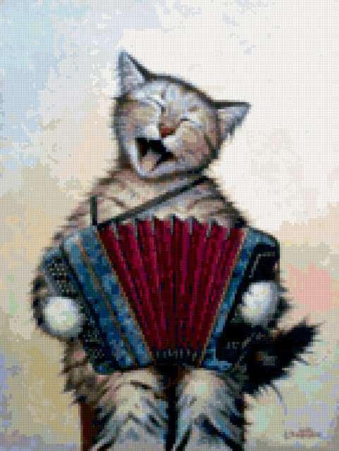 Веселые коты, предпросмотр