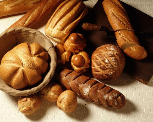 Хлеб, вышивка для кухни,