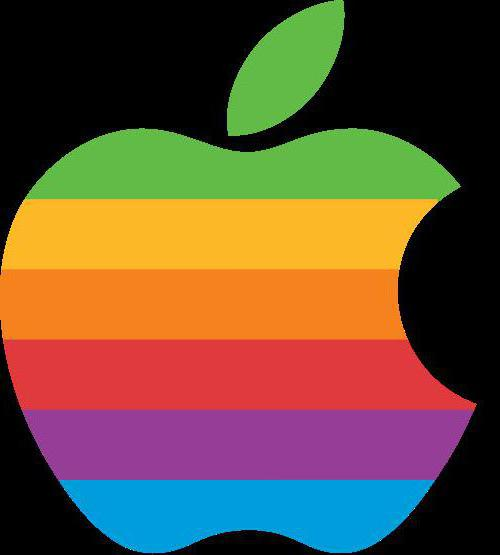 Apple logo, оригинал
