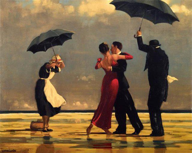 Танго под дождем))), оригинал