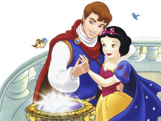Белоснежка и ее принц,