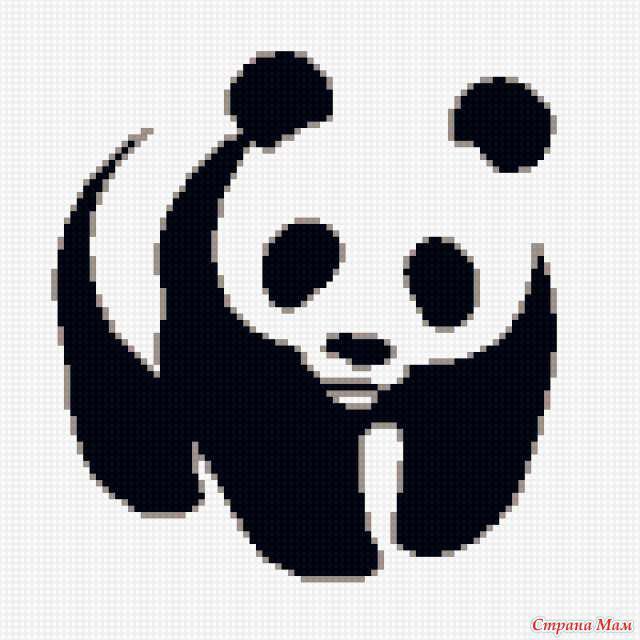 Панда, оригинал