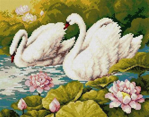 Лебеди, оригинал
