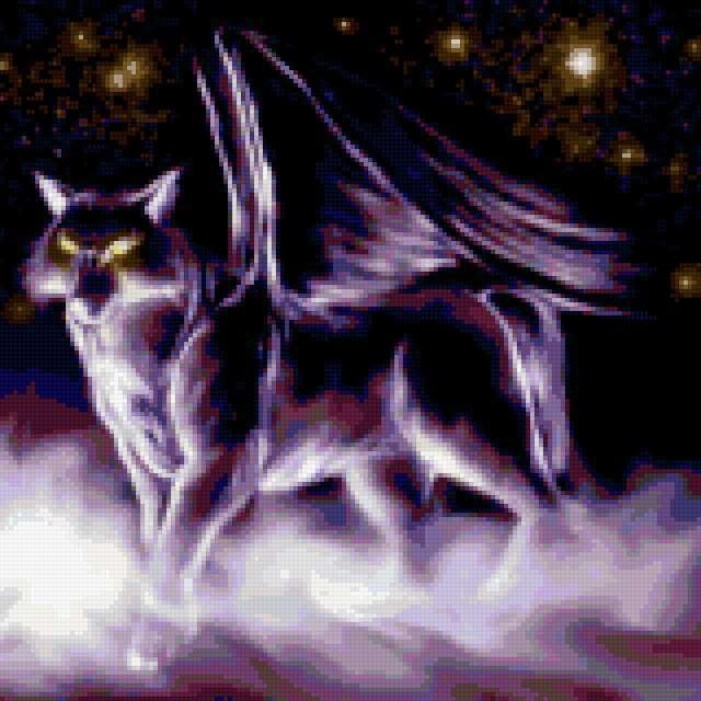Демон-волк, предпросмотр