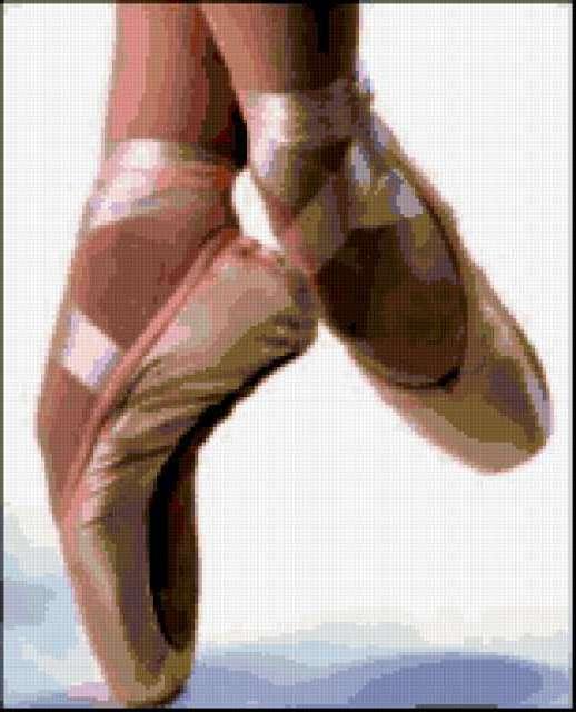 Пуанты, балерина, танец