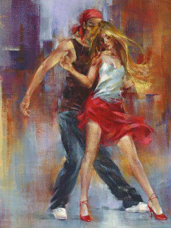 Современный танец, оригинал