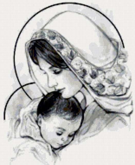 Мать с младенцем, предпросмотр