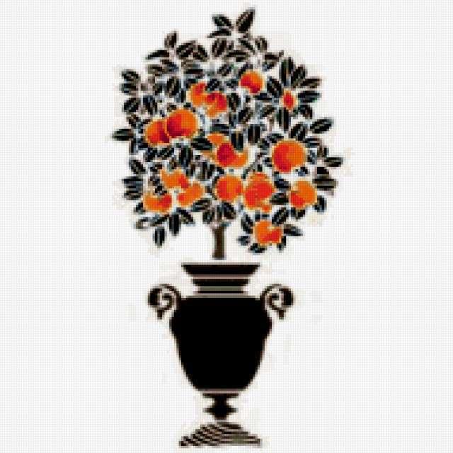 Апельсиновое дерево)))