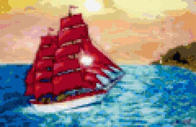 Алые паруса, предпросмотр