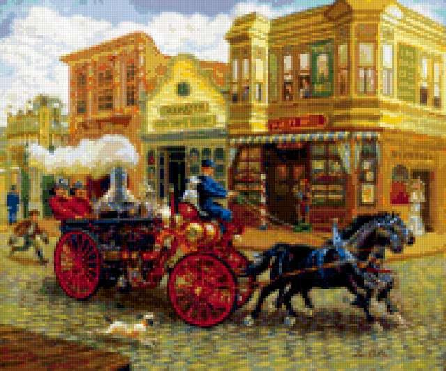 Пожарная машина, предпросмотр