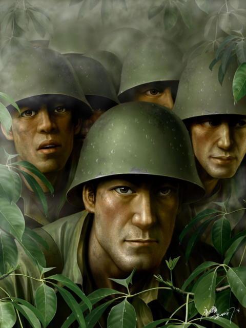 Солдаты, оригинал