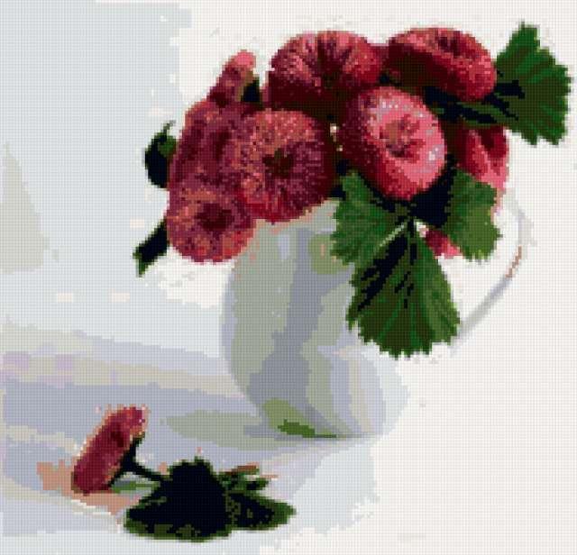 Маргаритки схемы для вышивки