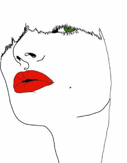 Образ девушки, оригинал