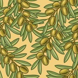 Decoration - Easy, decorative art, digital, easy, просто, colorful, olives