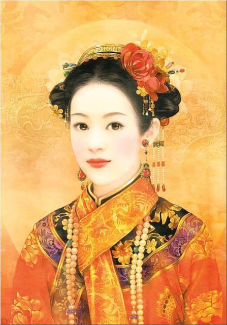 Китаянка, оригинал