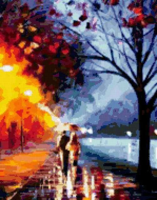 Осенние прогулки, пейзаж