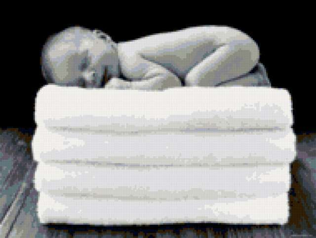Спящий младенец, предпросмотр
