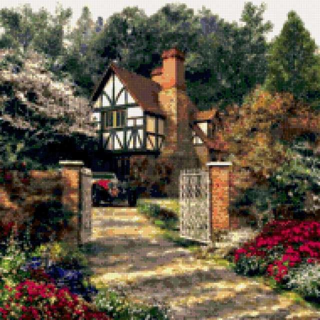Дом в английском стиле,
