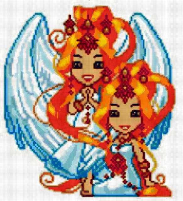 Знаки зодиака - близнецы