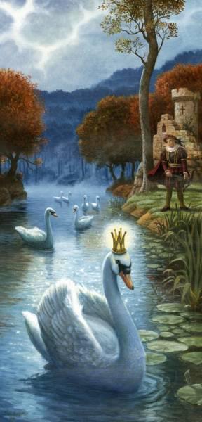 Царевна-лебедь, оригинал