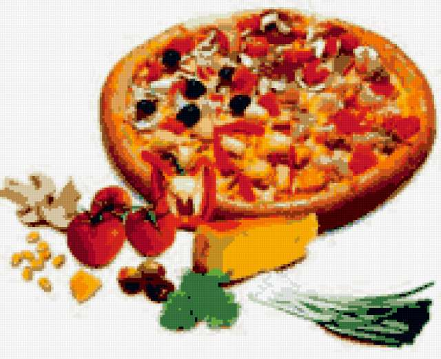 Пицца, предпросмотр