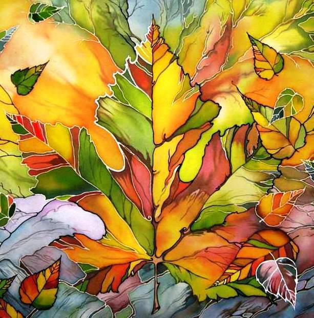 Кленовый лист, оригинал