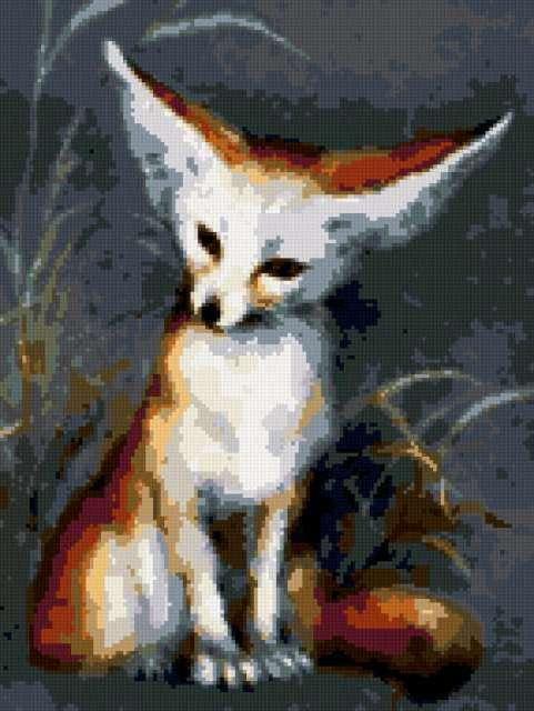 Лисичка фенек, предпросмотр