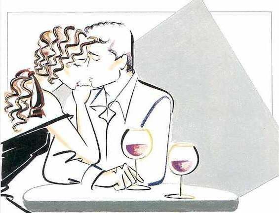 В кафе, пара, силуэт, поцелуй,