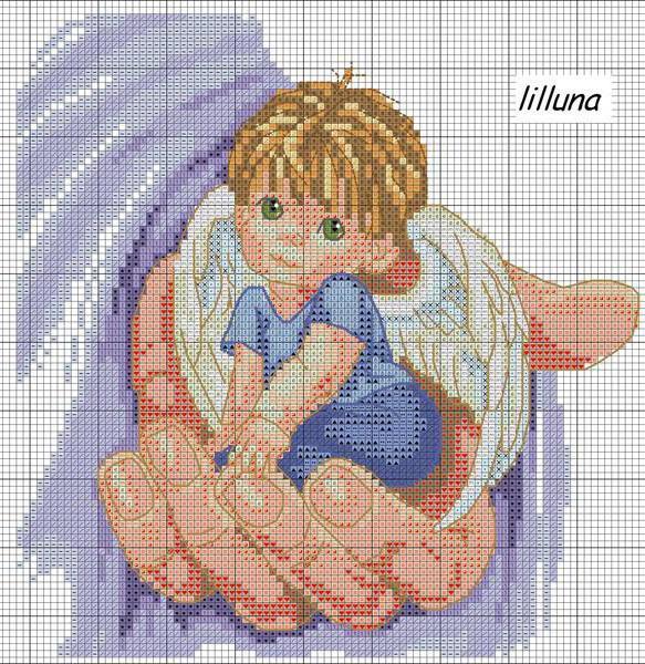 Ангел в руке, оригинал