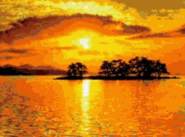 Восход солнца, предпросмотр