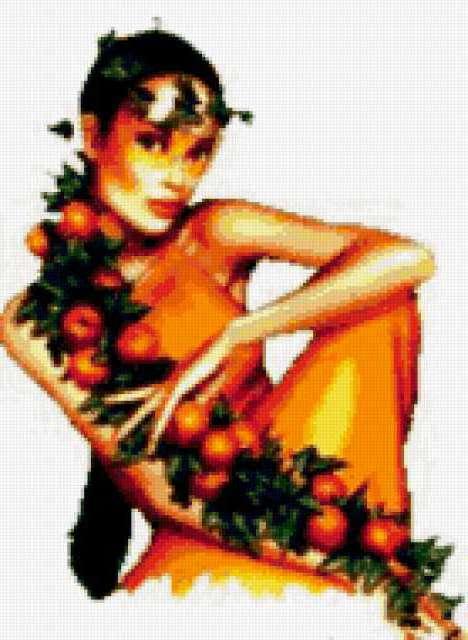 Девушка-апельсин, предпросмотр