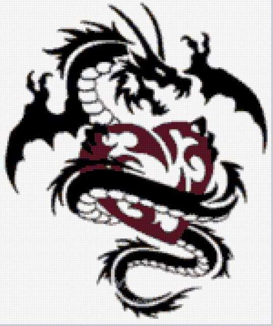 Сердце в лапках дракона,