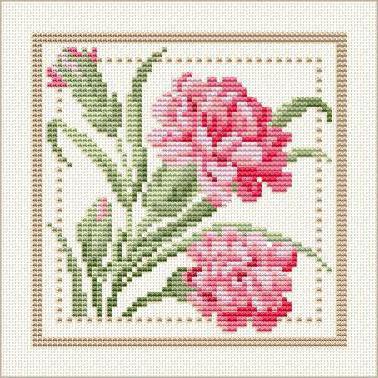 флора, квадрат, flower,