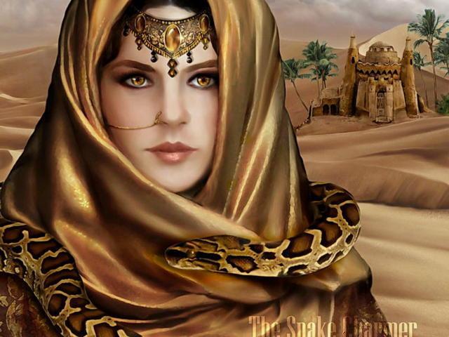 Дева пустыни, девушка, пустыня
