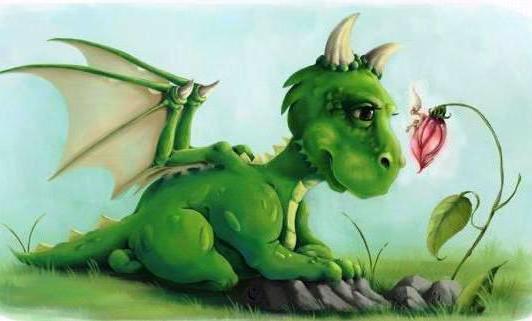 Маленький дракон в детскую,