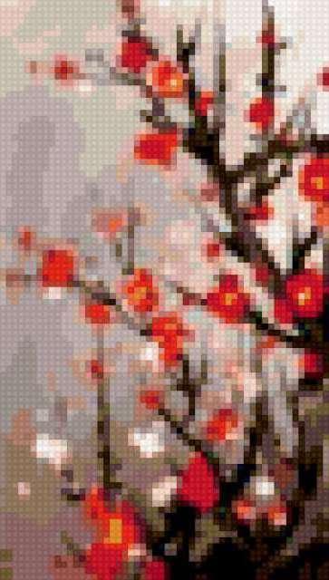 Цветы сакуры 1, предпросмотр