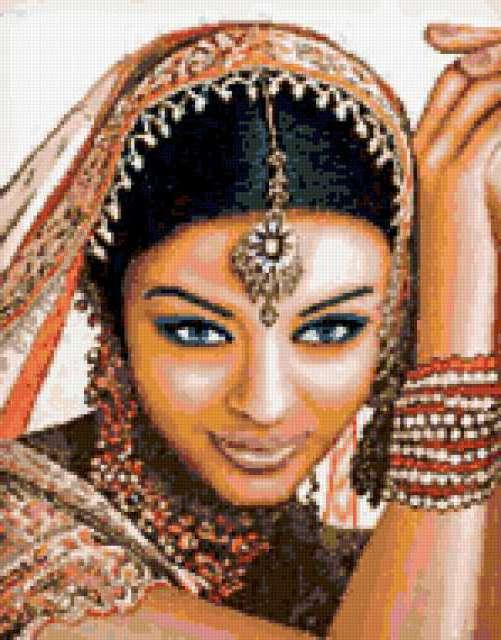 Индийская модель, предпросмотр
