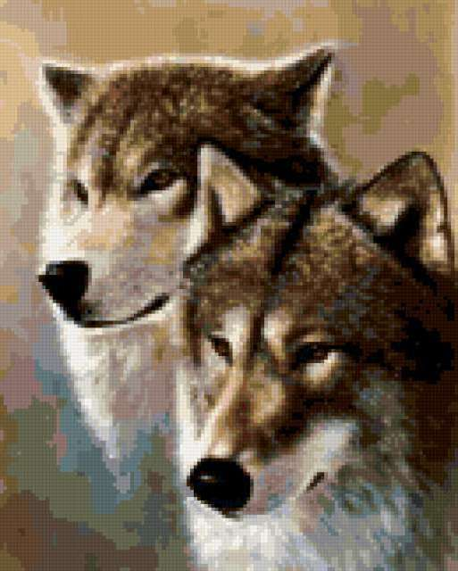 Волк и волчица 3, предпросмотр