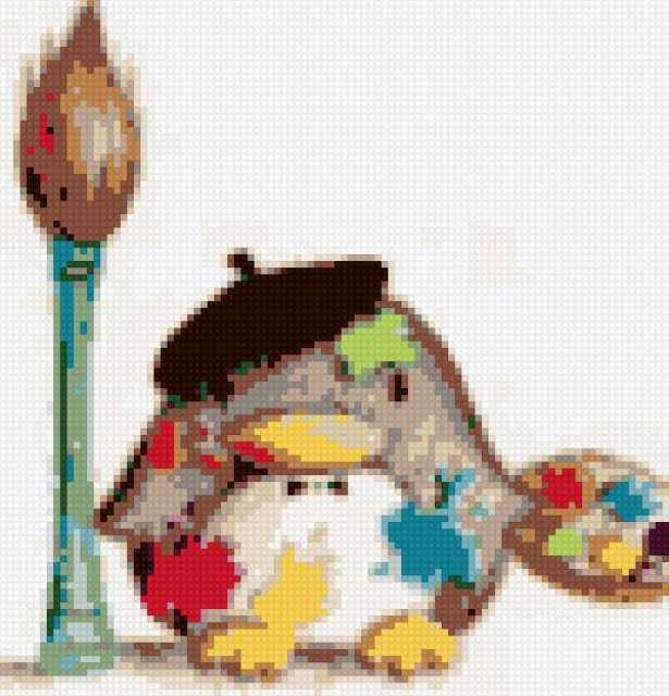 Пингвин, предпросмотр