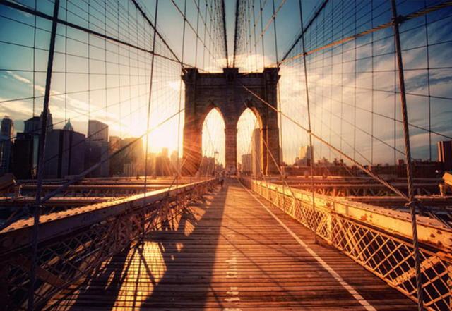 Бруклинский мост, оригинал