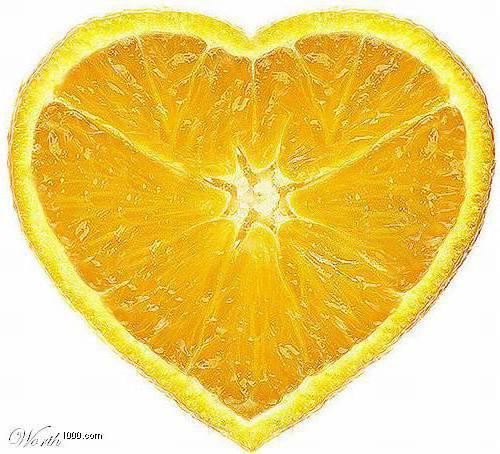 Лимон-сердце, оригинал