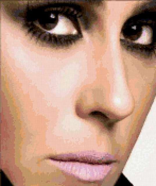 Бразильская актриса. ,