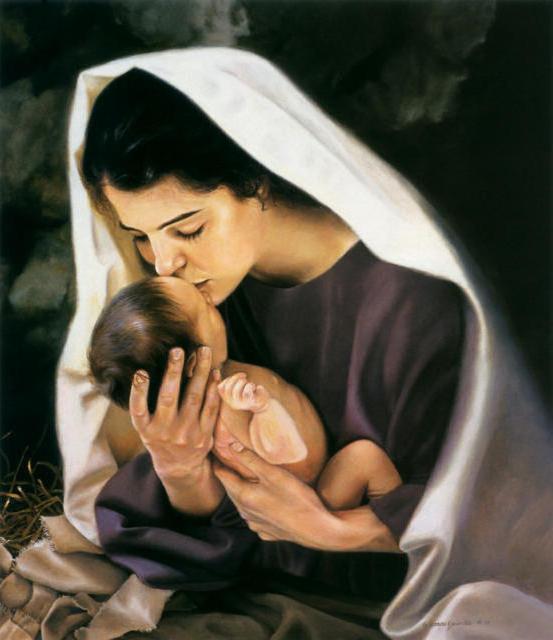 Мария и Иисус, оригинал