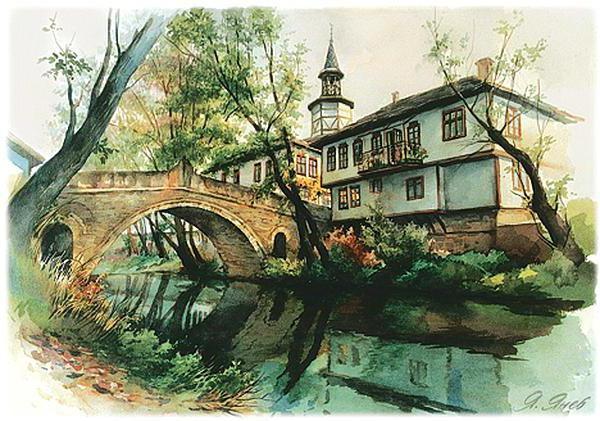 Болгарские дворики, оригинал