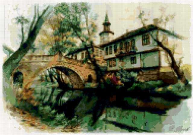 Болгарские дворики