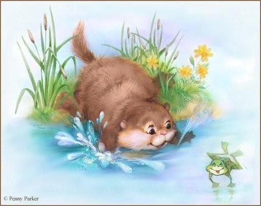 Рыбалка, кошки