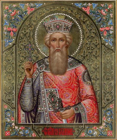Св. князь владимир, оригинал