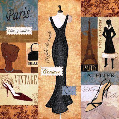Мода в Париже, оригинал