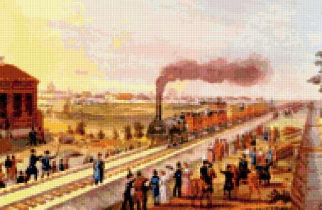 Поезд в Царское Село,